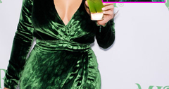 //kim kardashian green dress