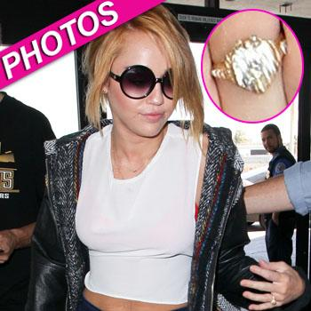 //miley cyrus engagement ring inf