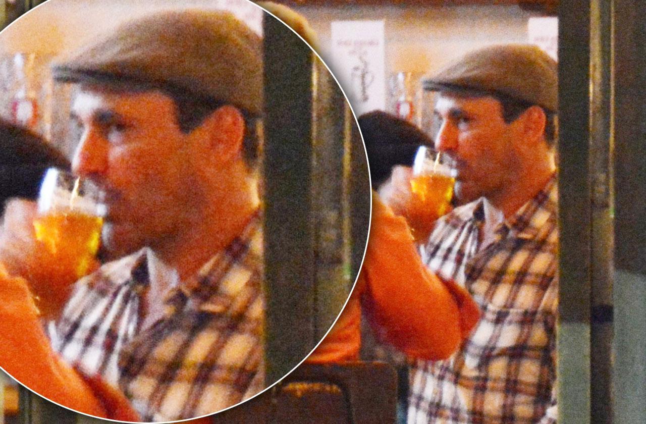//jon hamm relapse alcoholic drunk pp