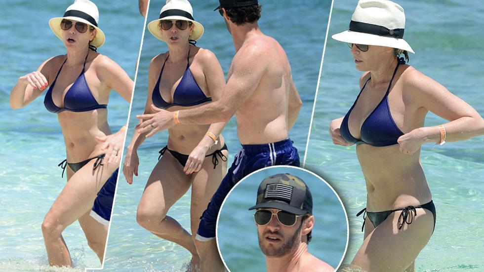 Chelsea Handler Bikini Photos With Josh Wolf In Bahamas