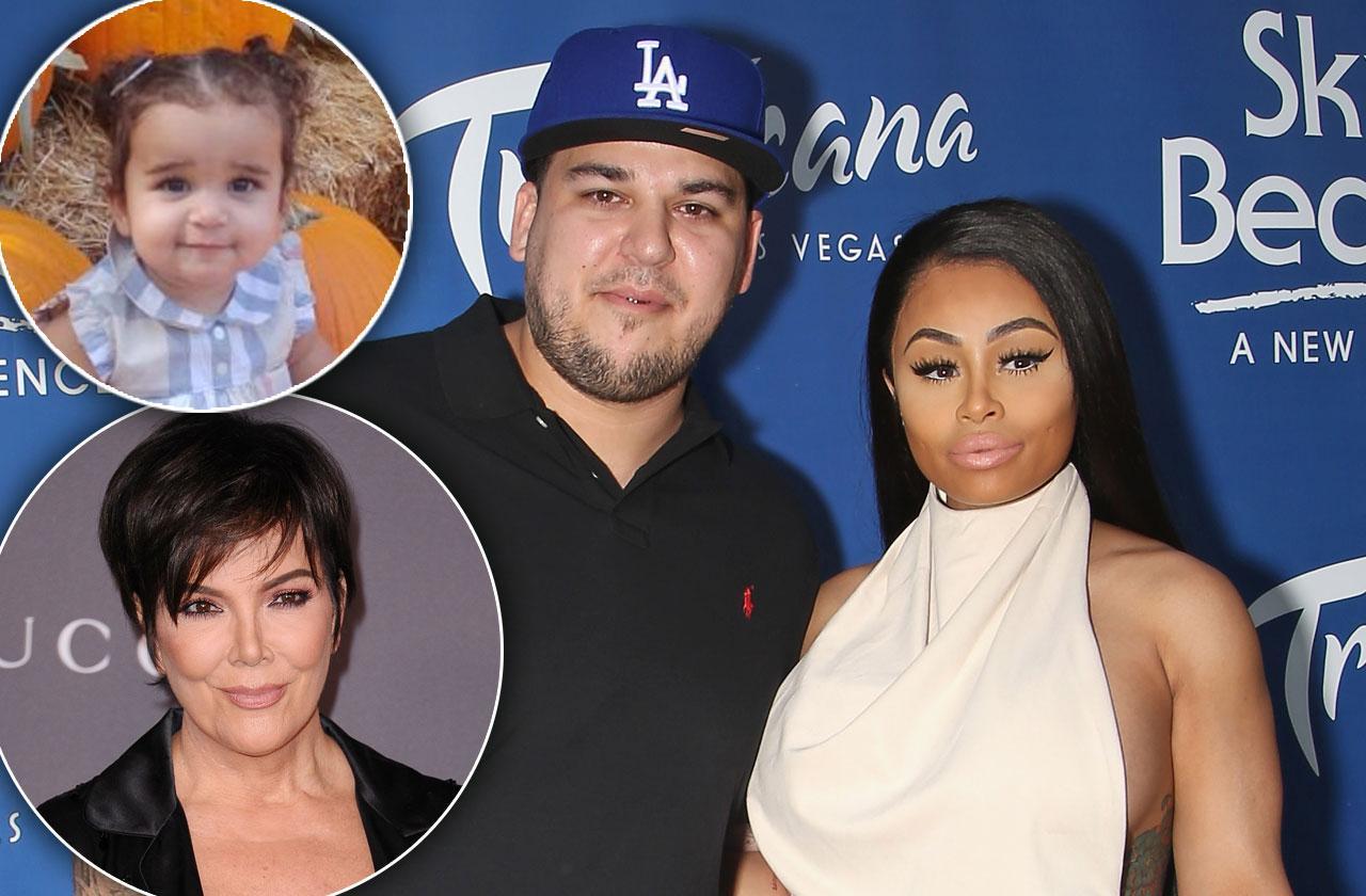 Blac Chyna Rob Kardashian Reuniting Baby Dream Birthday
