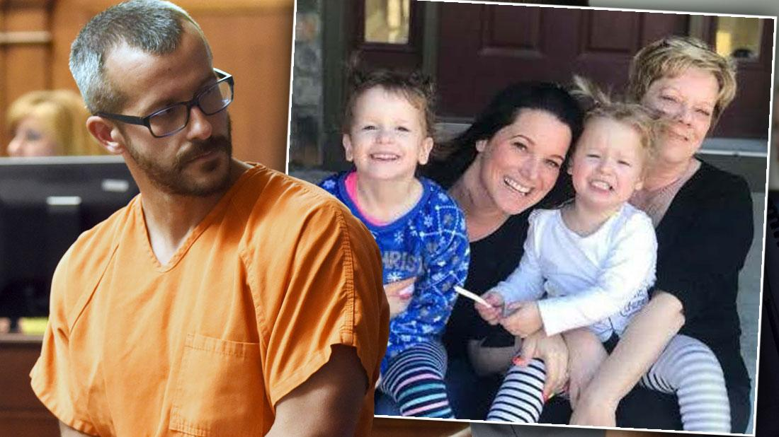 Inset Shanann Watss, Children Bella and Celeste With Shanann's mother Sanra Rzucek Chris Watts Agrees To Pay Murdered Wife's Parents $6 Million