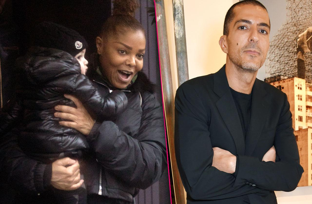 //Janet Jackson Consults Lawyer Safety Son PP
