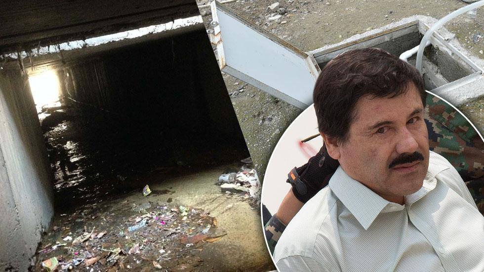 El Chapo Tunnel Escape