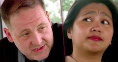 90 day fiance star eric child support payments leida threatens divorce