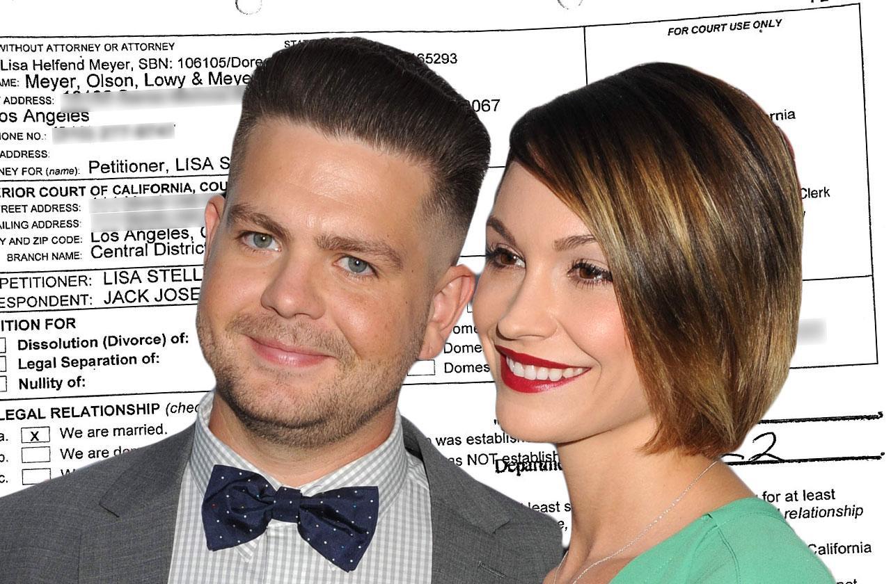 Jack Osbourne Wife Files Divorce Lisa Osbourne