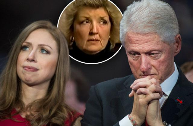 //bill clinton daughter alleged rape victim confronts chelsea twitter pp