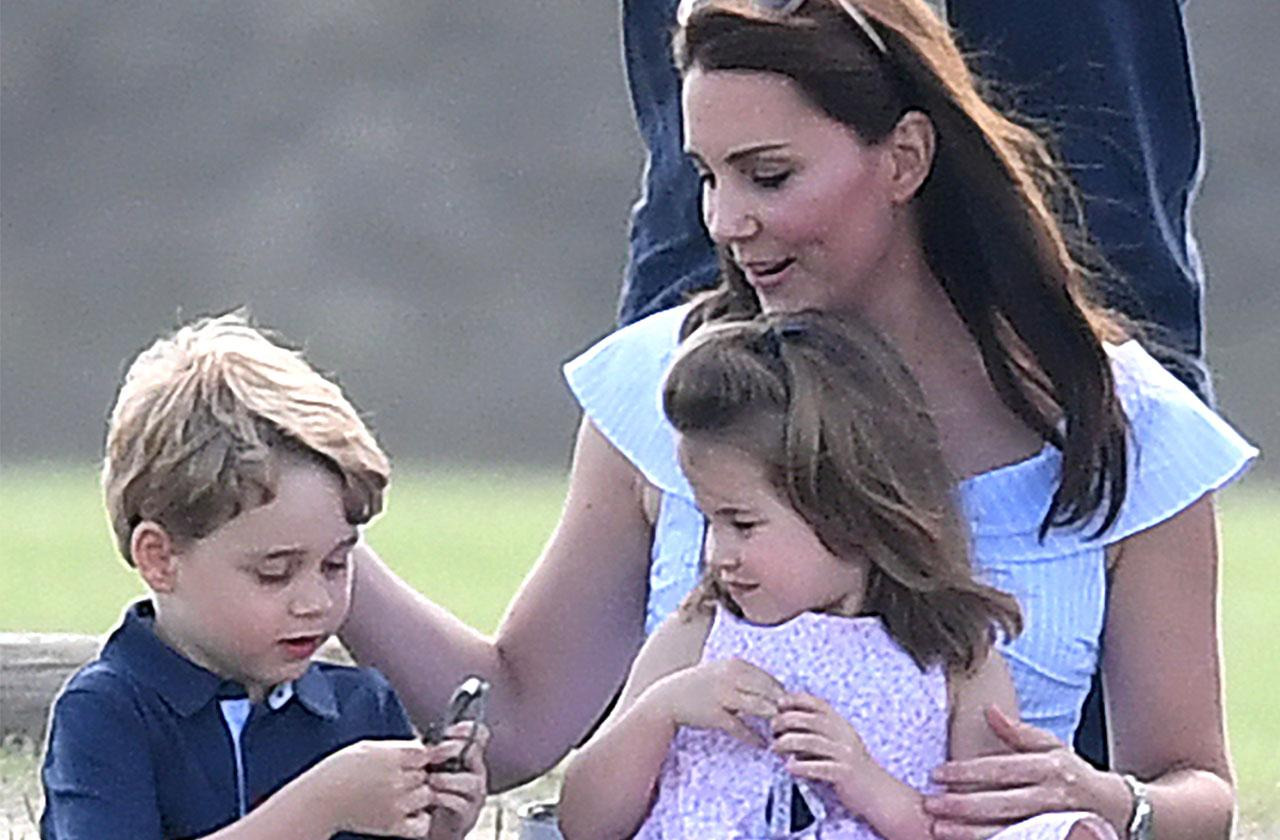 Kate Middleton Plays Kids Park