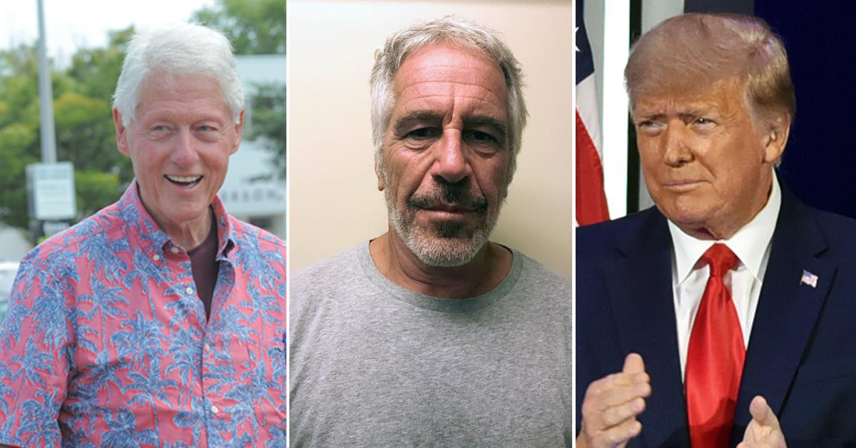 jeffrey epstein believes he could secure deal hanging dirt clinton tump to drop sex charges after  arrest