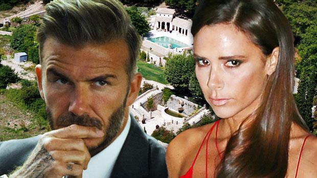 david beckham victoria beckham divorce rumors sell france home
