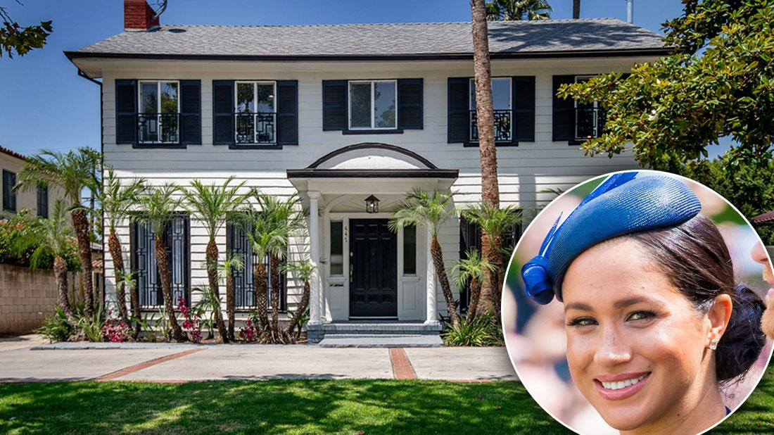 Meghan Markle's Palatial Los Angeles Home Up For Sale