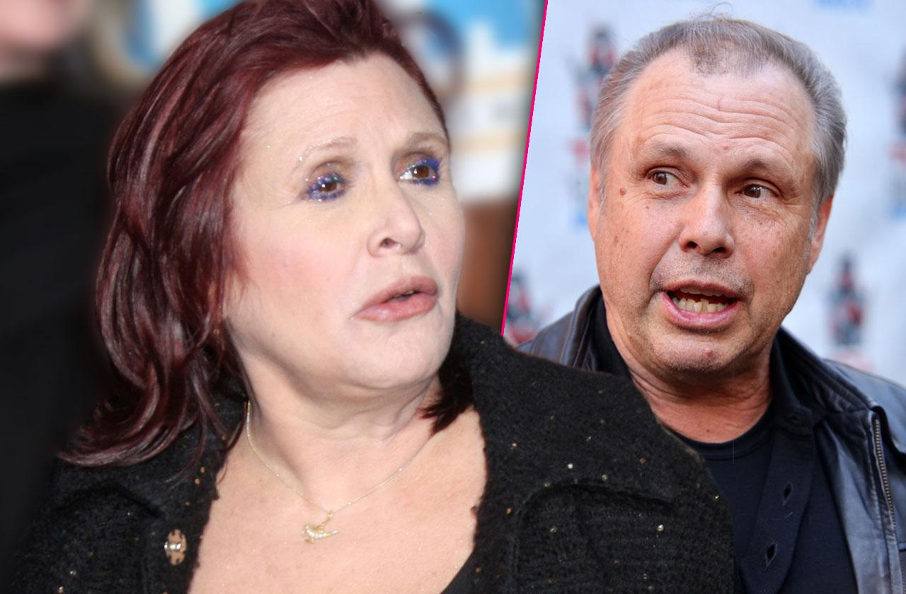 Carrie Fisher Brother White Powder Coat Pocket After Death