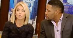 Michael Strahan Leaves Live Kelly Reaction Behind Scenes