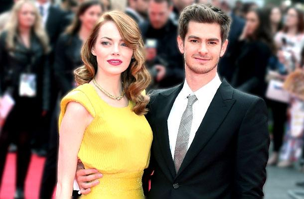 Andrew Garfield & Emma Stone Engagement