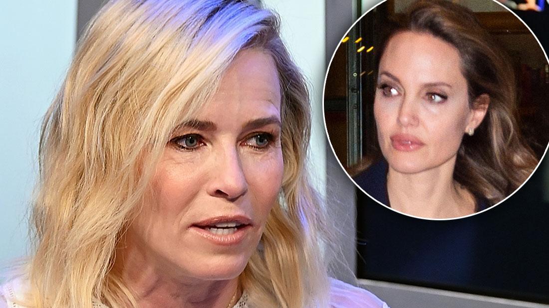 Chelsea Handler Recalls Confrontation With Angelina Jolie