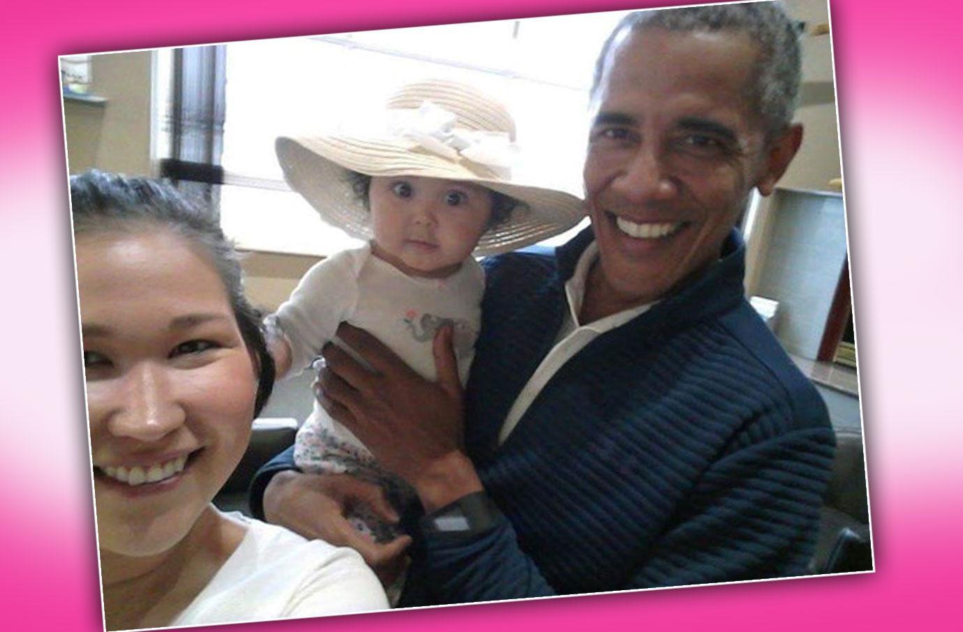 Barack Obama Photographed Without Wedding Ring Michelle Obama