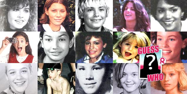 //celebrity childhood photos guess who  wide