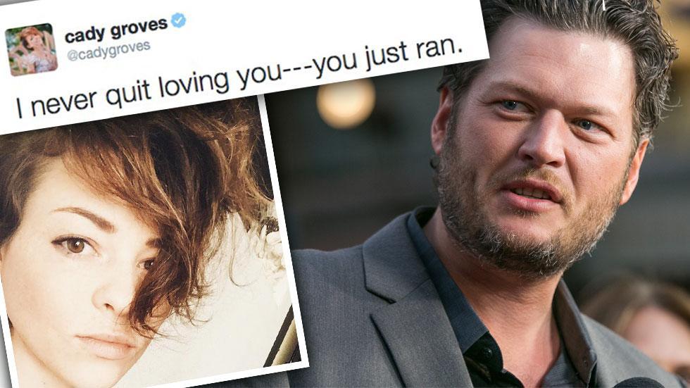 Blake Shelton Miranda Lambert Divorce Other Woman Cady Groves Twitter Rant Again