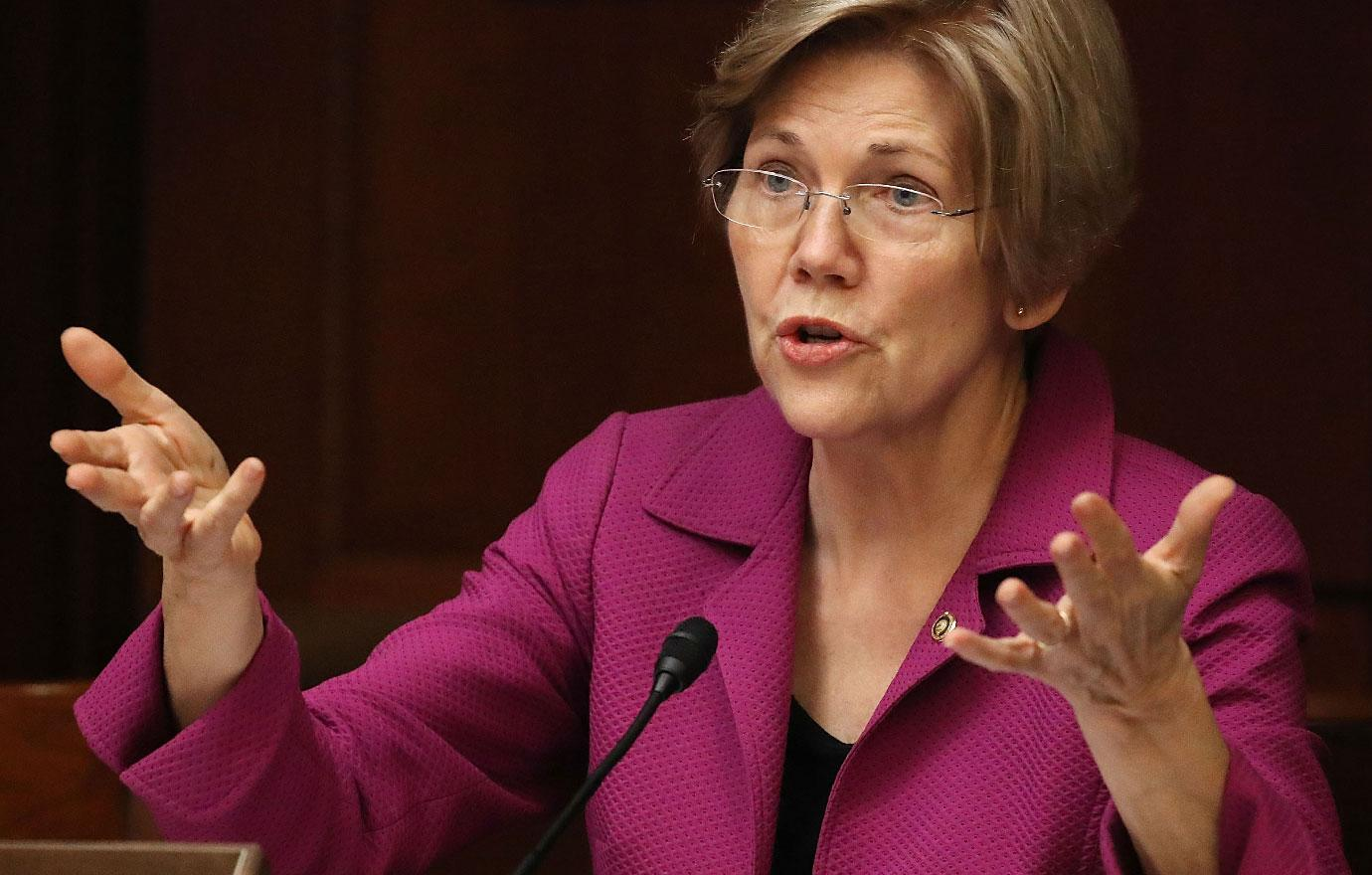 //watch elizabeth warren confronted on camera trying to prove shes not in one percent pp
