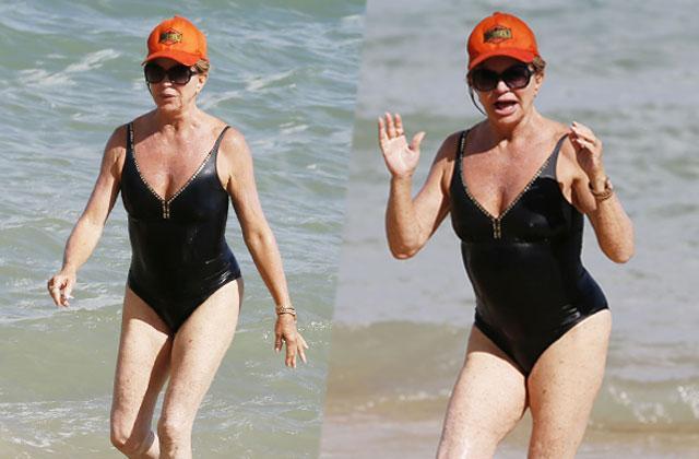 goldie hawn bathing suit