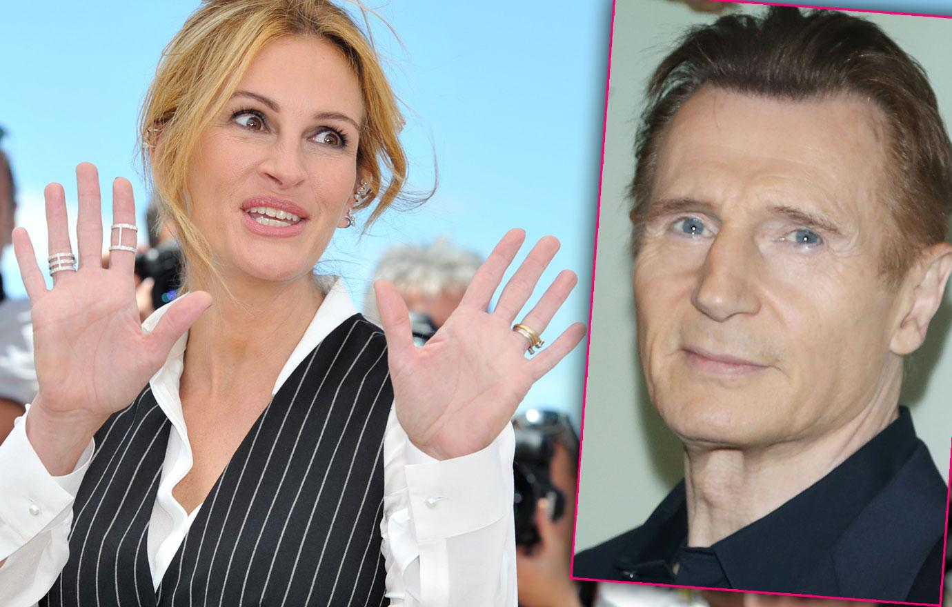 Teenage Julia Roberts Liam Neeson Relationship