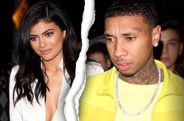 //Kylie Jenner Tyga Split Reason pp