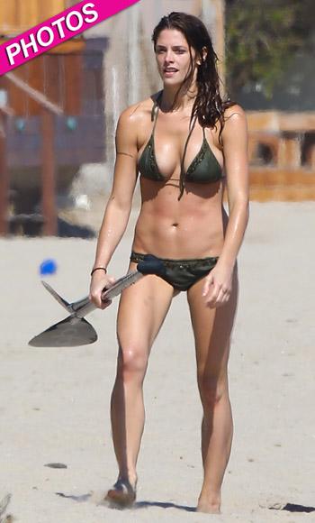 //ashley greene bikini malibu
