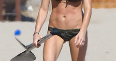 //ashley greene bikini malibu