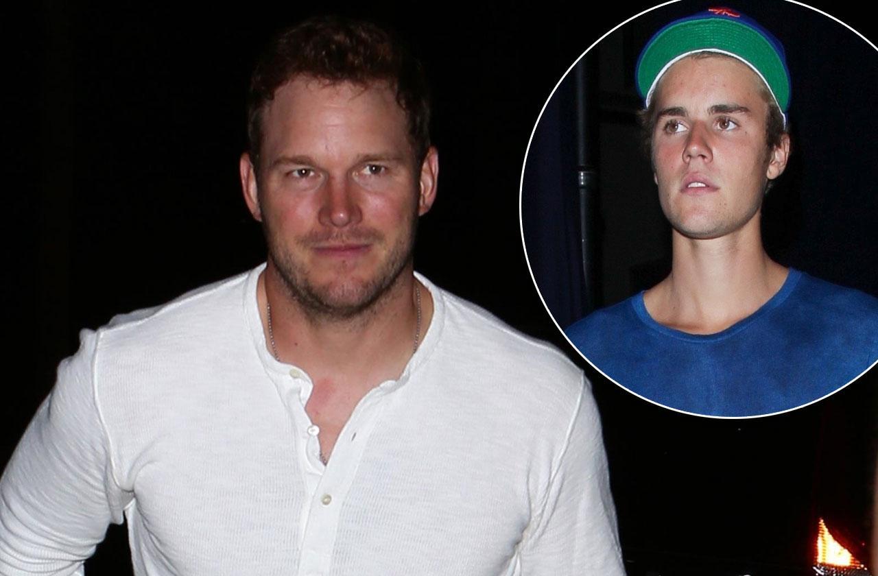 Chris Pratt Justin Bieber Church Hillsong