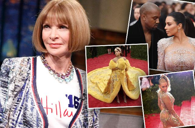 //anna wintour slams celebrities met ball tell all video pp