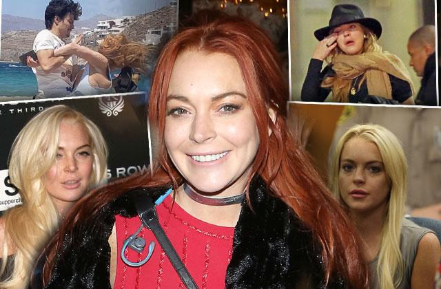 //Lindsay Lohan Hot Mess Drugs claims Arrest Most Shocking Moments pp