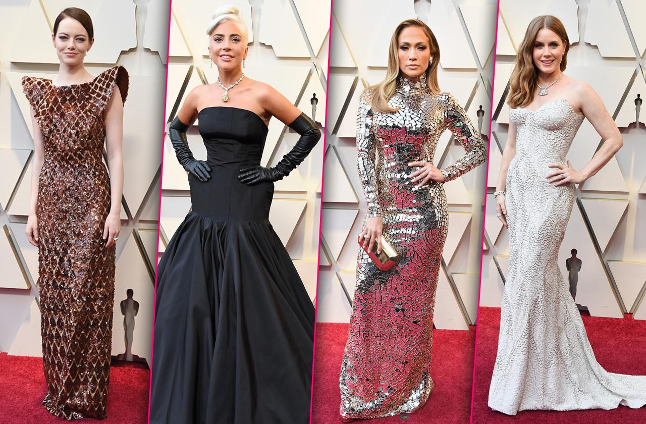 Academy Awards Oscars 2019 Red Carpet Arrivals Celebrities