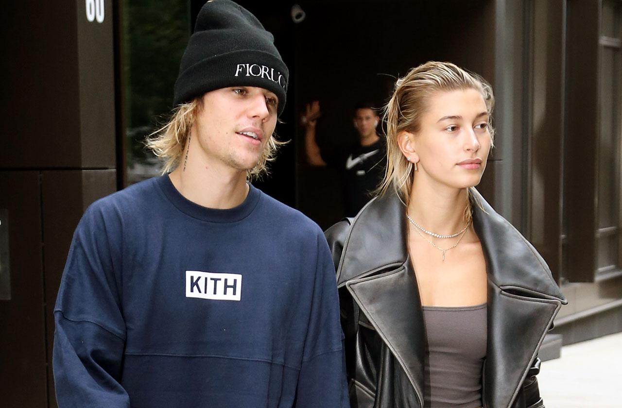 //justin bieber married spotted first time hailey baldwin photos pp