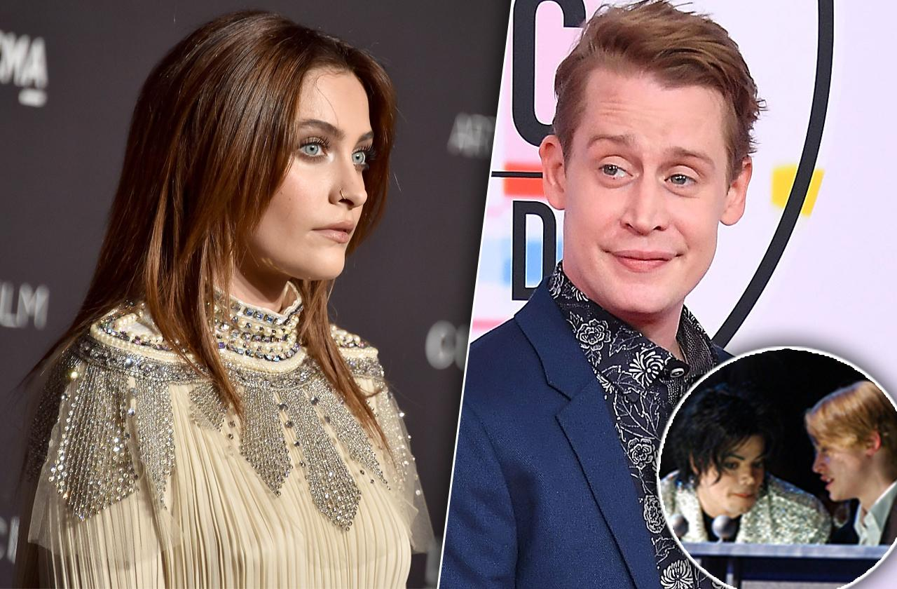 Paris Jackson Macaulay Culkin Leaving Neverland Documentary