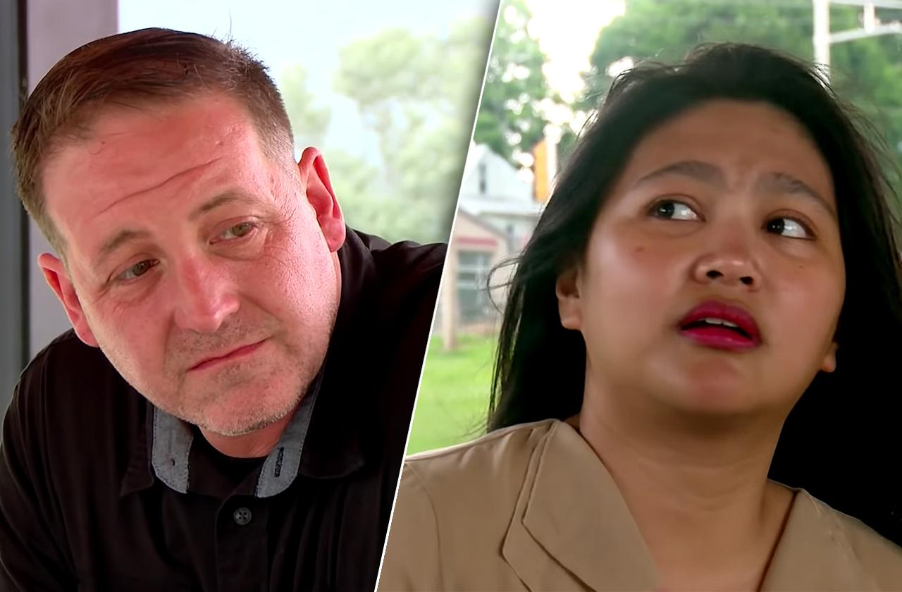 eric leida rosenbrook police protection death threats 90 day fiance