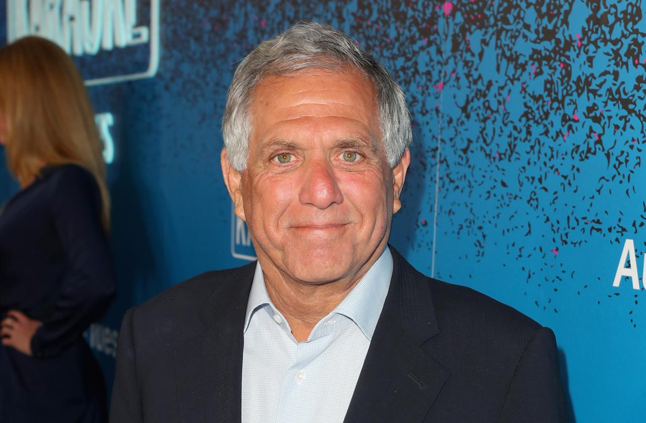 //cbs chief les moonves let go by network pp