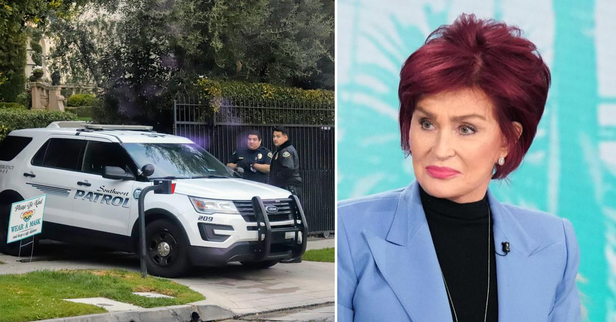 sharon osbourne increases security backlash defending piers morgans comment meghan markle rf