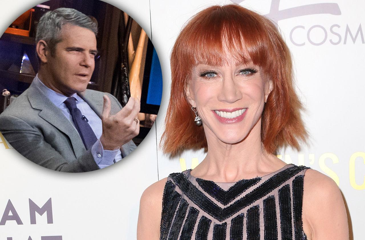 //Kathy Griffin Slams Andy Cohen pp