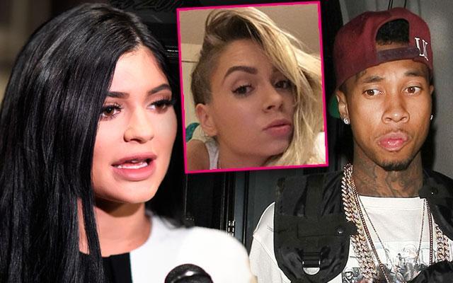 Kylie Jenner Confronts Tyga Mistress