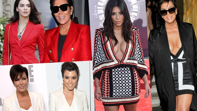 Kris Jenner Steals Daughters' Style