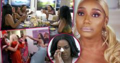 3 Insets Of The Real Houswives of Atlanta, Nene Leakes Looking Angry