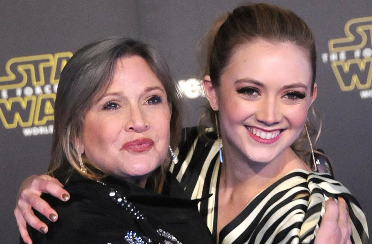Billie Lourd Sings One Of Mom Carrie Fisher's Favorite Songs On Second Anniversary Of Her Death