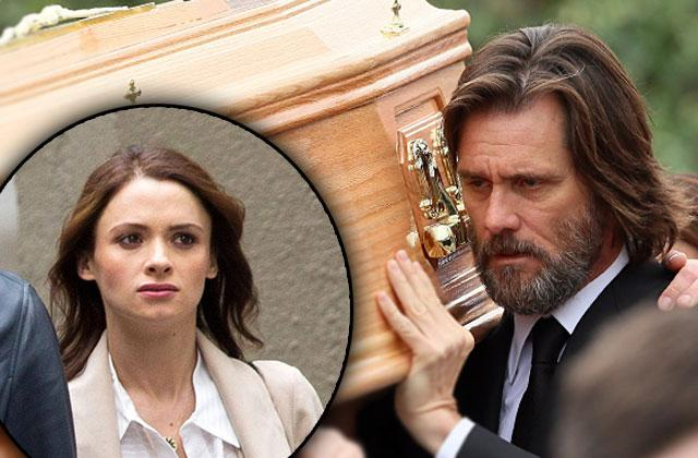 Jim Carrey Sued Wrongful Death Cathriona White Funeral