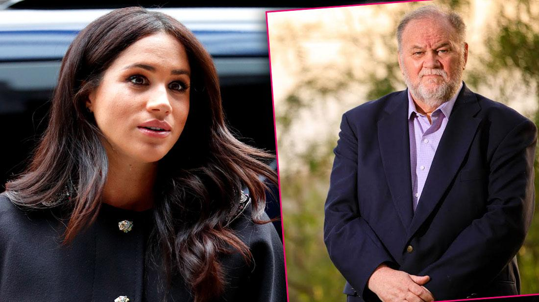 Meghan Markle Bans Dad From Seeing His Royal Grandchild