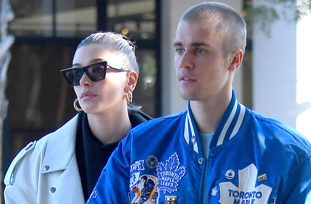 Justin Bieber And Hailey Baldwin Go Out In Studio City