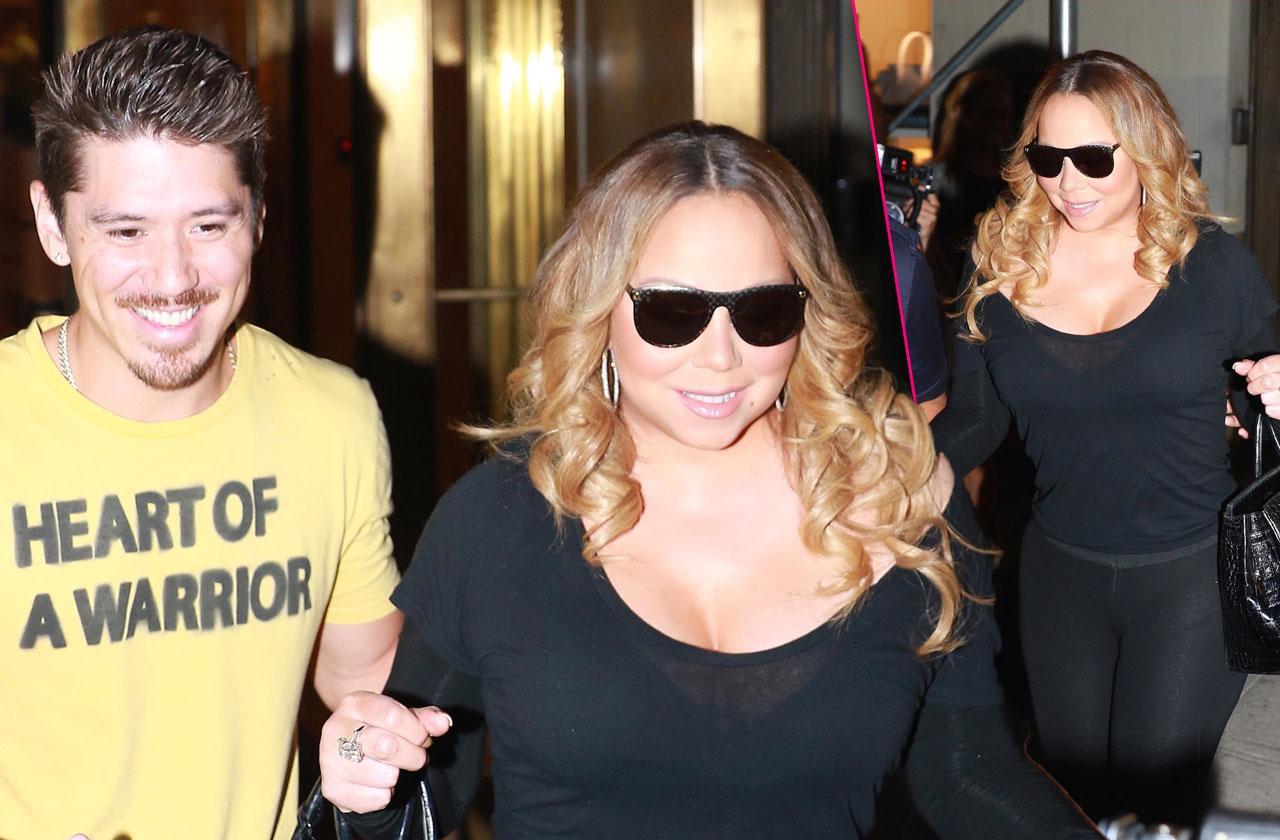 Mariah carey bryan tanaka bowling date split