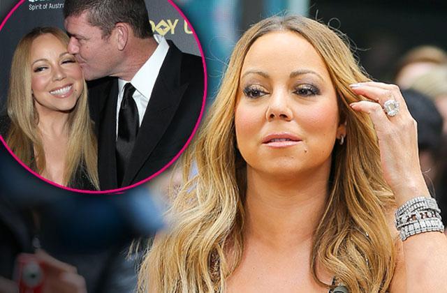 //Mariah Carey James Packer Wedding On Hold pp