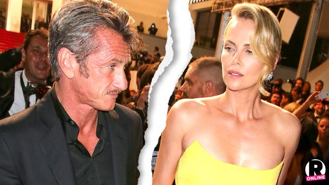 Charlize Theron Sean Penn Split Break Up
