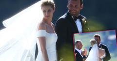Erin Andrews Wedding Outdoor Ceremony Jarret Stoll
