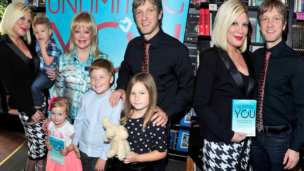 ori Spelling & Mother Candy Reunite At Brother Randy's Book Signing Party